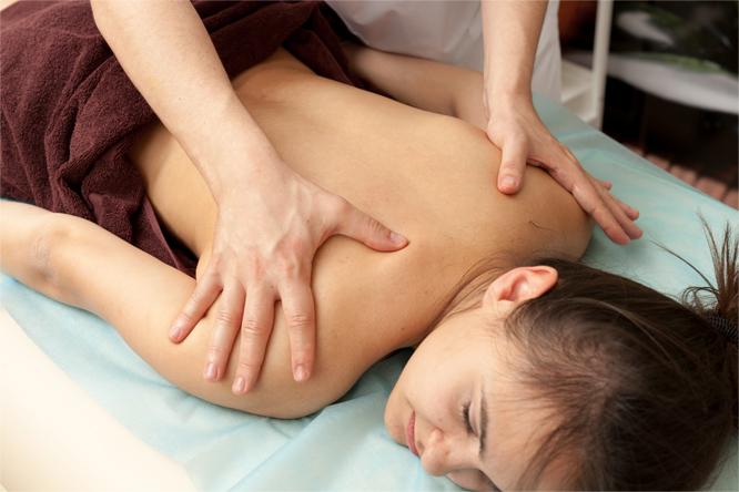 масажът